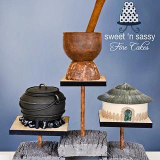 African Wedding - Cake by Sandy Lawrenson - Sweet 'n  Sassy