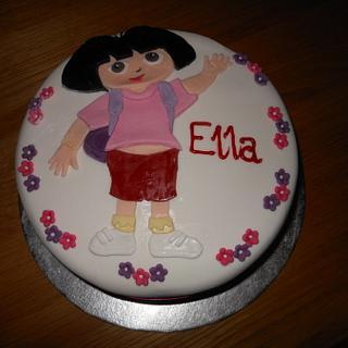 Dora the Explorer - Cake by sas