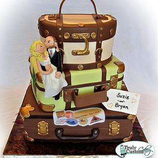 Bon Voyage! - Cake by TrulyCustom