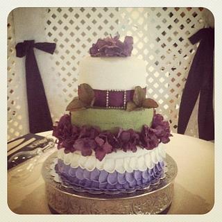 Purple Love - Cake by CakeYourself