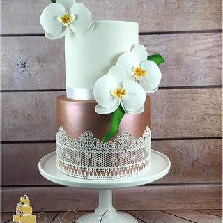 Rose Gold - Cake by Whitsunday Baked Creations - Deb Smith