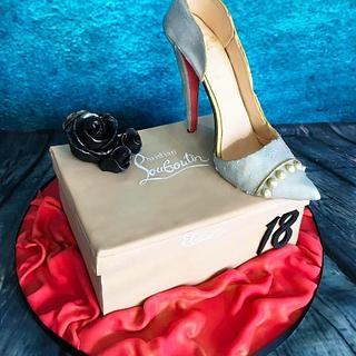 Louboutin shoe cake - Cake by Maria-Louise Cakes