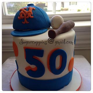 Mets cake - Cake by Oribel