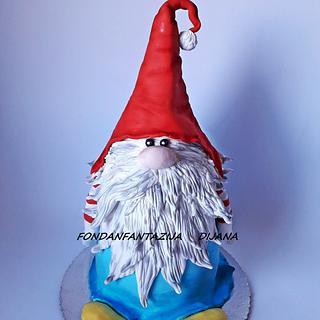 Gnome cake - Cake by Fondantfantasy