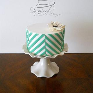My simple little birthday cake!