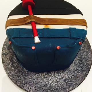 Plumbers bumb! - Cake by lesley hawkins