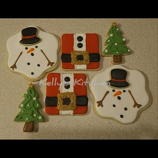 Christmas sugar cookies, Style 1