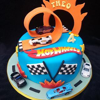 Hot wheels cake  - Cake by Mrsmurraycakes