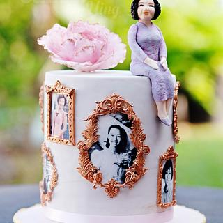Petite Frames cake - Cake by Cakes! by Ying