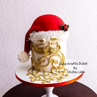 Santa  - Cake by Vinita Lobo