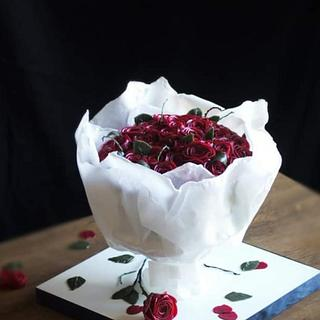 Buttercreamflowers bouquet