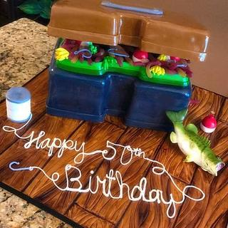 Fishing Frenzy - Cake by Simply Sugar Bakery Boutique