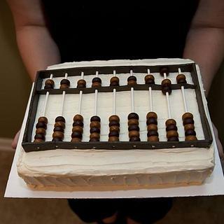 Abacus cake