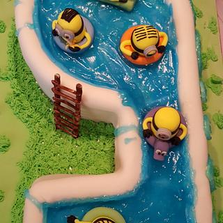 Minions in the pool