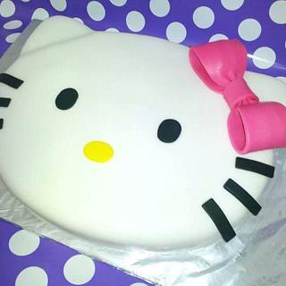 Hello Kitty birthday cake - Cake by Infinity Sweets