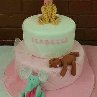 Christening cake - Cake by Baked by Lisa