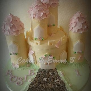 Princess Castle Cake - Cake by CakesByEmmaB