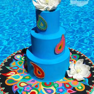 Festival Of Lights Cake Collaboration