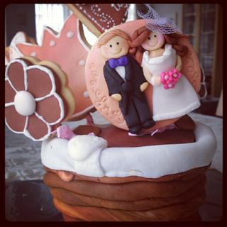 Wedding cake and cookies - Cake by Cake Istanbul