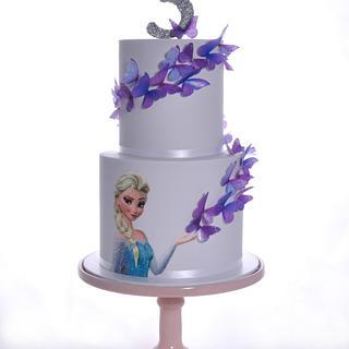 Frozen Butterfly Cake