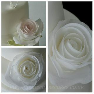 Rice Paper Roses