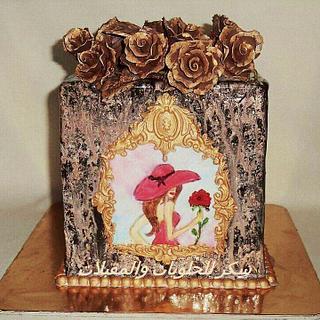 antique cake