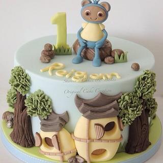 Blue Waybuloo - Cake by Shereen