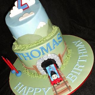 Thomas the Tank Engine - Cake by Raewyn Read Cake Design