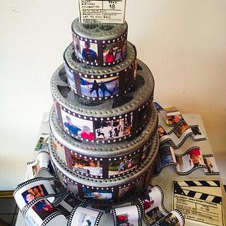 Sweet wellcome 18th birthday cake