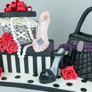Women's Day Cake / Tort Na Dzień Kobiet