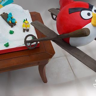 Angry Bird (Gravity cake)