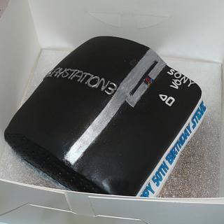 Playstation 3 Cake  - Cake by Krazy Kupcakes