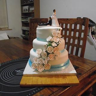 My Wedding Cake - Cake by Tracyf1