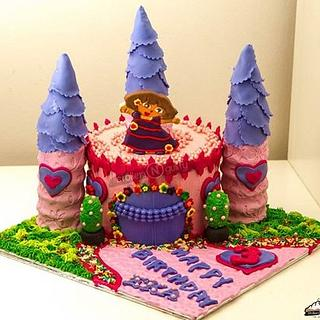 The Pink castle - Cake by Smitha Arun