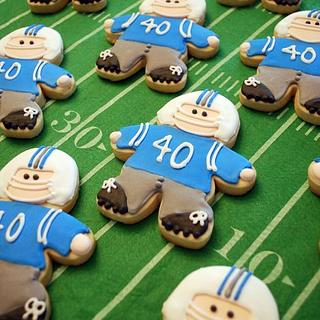 Football Player Cookies!