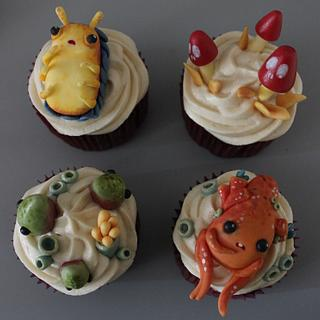 Center for Otherworld Science cupcakes