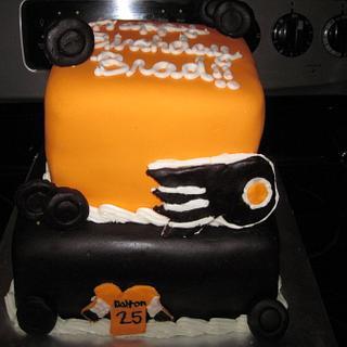 Flyer's Birthday Cake!  - Cake by Lori