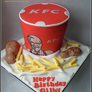 KFC Bucket Cake