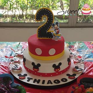 Torta Mickey Mouse - Cake by Sweet Art Pastelería & repostería