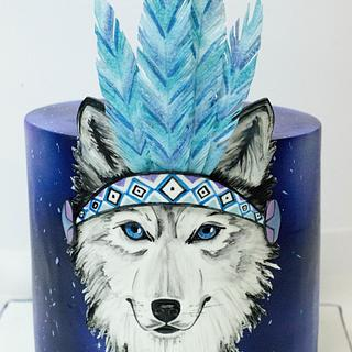 Magic wolf cake - Cake by Soraia Amorim