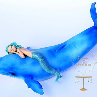 Under The Sea Sugar Art Collaboration - Mermaid & Whale