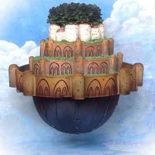 Laputa Castle-Spirited Away collaboration