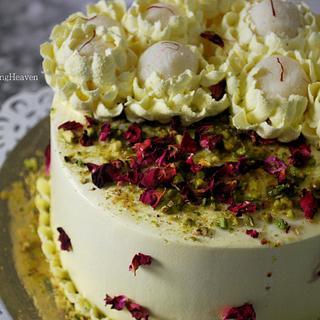 Rasmalai cake!!!