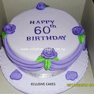 Purple & lilac cake