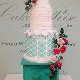 Wedding Cake entry - Irish Sugarcraft Competition