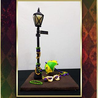 Mardi Gras Carnival Cakers Collaboration 2018