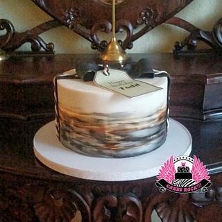 Strange Masculine Birthday Cake 1 Cake Cakesdecor Personalised Birthday Cards Cominlily Jamesorg