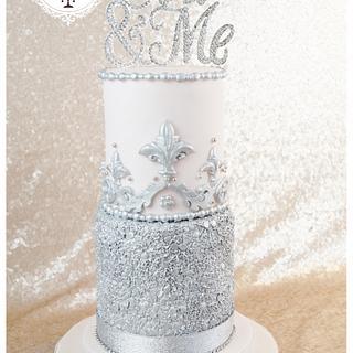 The Glitterati Cake