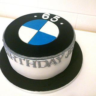BMW birthday cake.