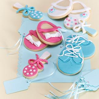 Baby shower cookies - Cake by Hana Rawlings